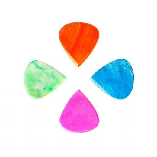 Jazzy Tones Mixed Pack of 4 Guitar Picks